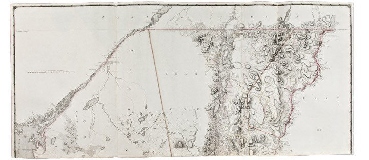 A Chorographical Map of the Province of New-York in North America, divided into counties, manors, patents and Townships ... compiled from Actual Surveys deposited in the Patent Office at New York, by Order of His Excellency Major General William Tryon. Claude Joseph SAUTHIER.