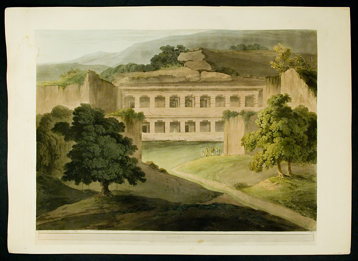 Do Tali [Do Tal, Ellora]. Thomas DANIELL, after James WALES.