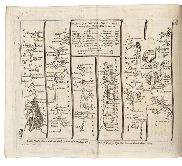 Kitchin's Post-Chaise Companion, Through England and Wales; Containing all the Ancient and New Additional Roads, with Every Topographical Detail Relating Thereto. Thomas KITCHIN.