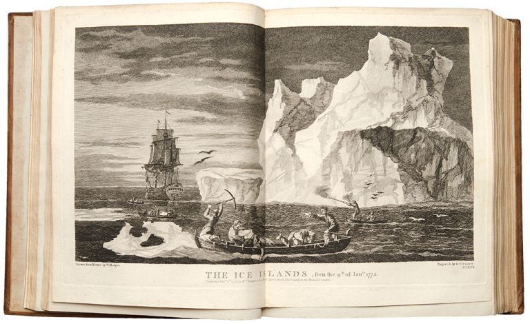 A Voyage towards the South Pole, and Round the World. Performed in His Majesty's Ships the Resolution and Adventure, In the years 1772, 1773, 1774, and 1775. In which is included Captain Furneaux's Narrative of his Proceedings in the Adventure during the Separation of the Ships. Capt. James COOK.