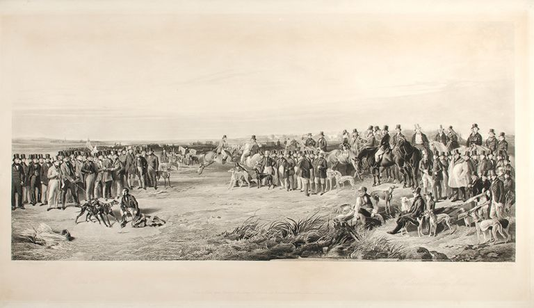 THE WATERLOO COURSING MEETING. Samuel William after RICHARD ANSDELL REYNOLDS, 1815 - 1885.
