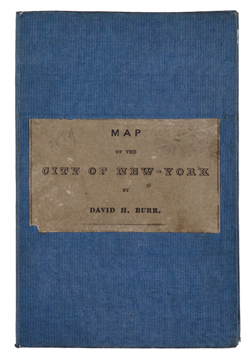 City of New York. David H. BURR.
