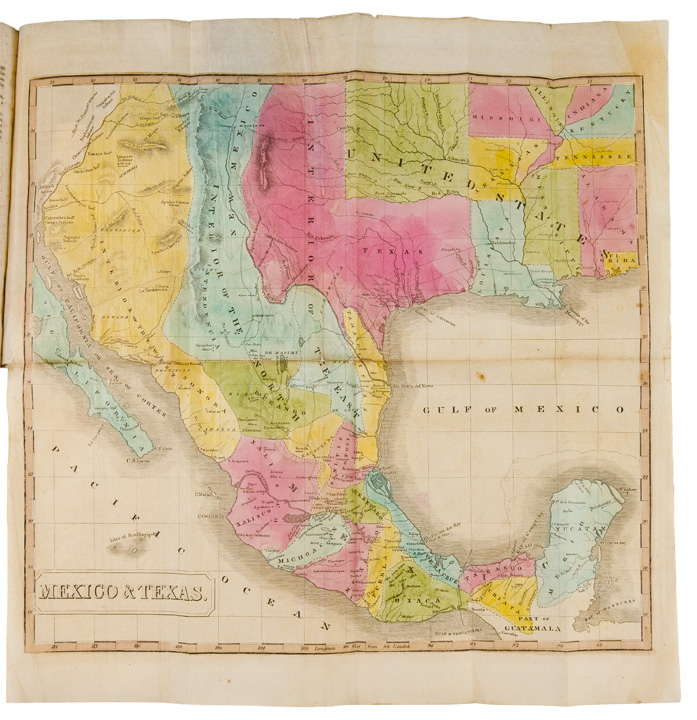 History of South America and Mexico; comprising their discovery, geography, politics, commerce and revolutions ... to which is annexed, a geographical and historical view of Texas, with a detailed account of the Texian Revolution and War. John M. NILES, L T. PEASE.