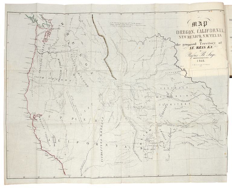 Narrative of the Exploring Expedition to the Rocky Mountains, in the year 1842; and to Oregon and North California, in the Years 1843-44. John Charles FREMONT.