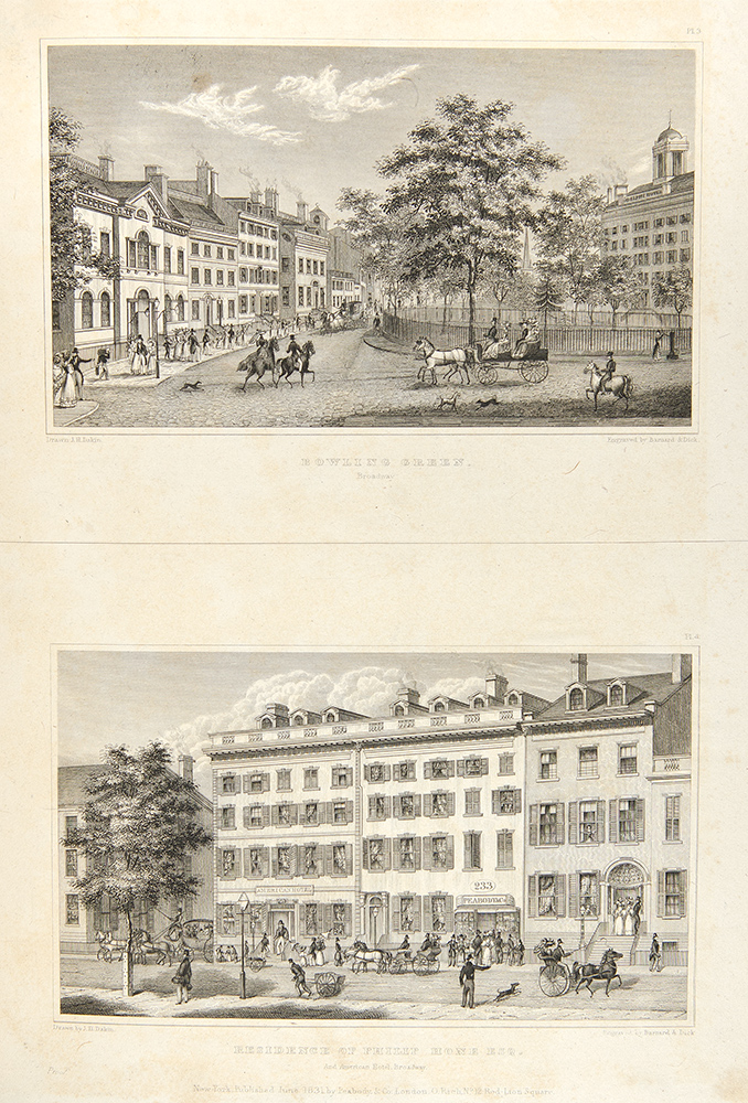 Views in New-York and its Environs from Accurate, Characteristic & Picturesque Drawings. Theodore Sedgwick FAY, James H. DAKIN.