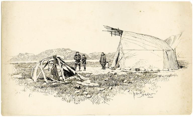 [Sixty-two Original Ink Drawings Illustrating the Harriman Alaska Expedition, 1899]. William Edgar SPADER.