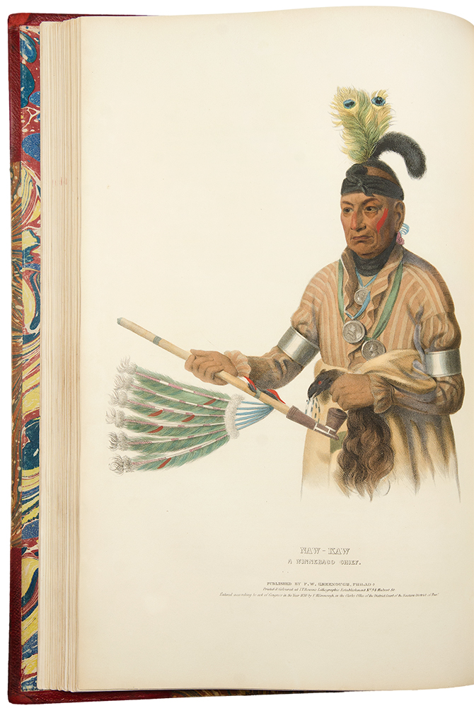 History of the Indian Tribes of North America, with Biographical Sketches and Anecdotes of the Principal Chiefs. Embellished with one hundred and twenty portraits, from the Indian Gallery in the Department of War, at Washington. Thomas L. MCKENNEY, James HALL.