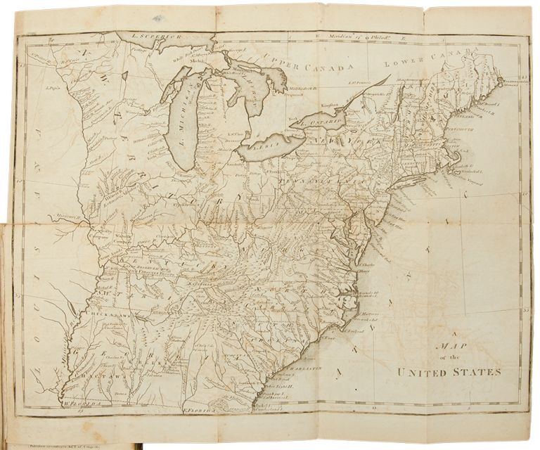 The United States Gazetteer: Containing an Authentic Description of the Several States. Their Situation, Extent, Boundaries, Soil, Produce, Climate, Population, Trade and Manufactures. Together with the Extent, Boundaries and Population of their Respective Counties. Also, an Exact Account of the Cities, Towns, Harbours, Rivers, Bays, Lakes, Mountains, &c. Joseph SCOTT.