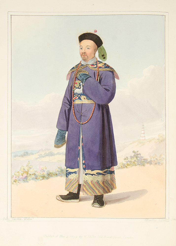 The Costume of China, illustrated with sixty engravings: with explanations in English and French. George Henry MASON.