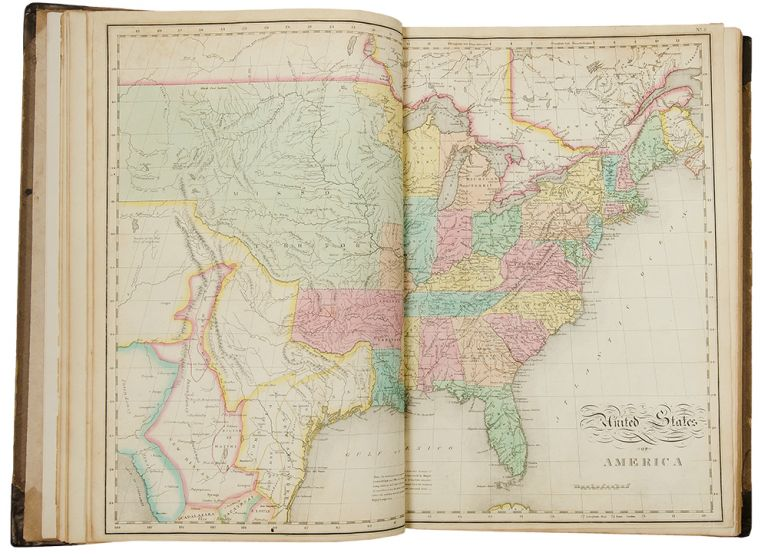 A Complete Historical, Chronological, and Geographical American Atlas, being a guide to the history of North and South America, and the West Indies: exhibiting an accurate account of the discovery, settlement, and progress, of their various kingdoms, states, provinces, &c. Together with the wars, celebrated battles, and remarkable events, to the year 1822. Henry Charles CAREY, Isaac LEA.