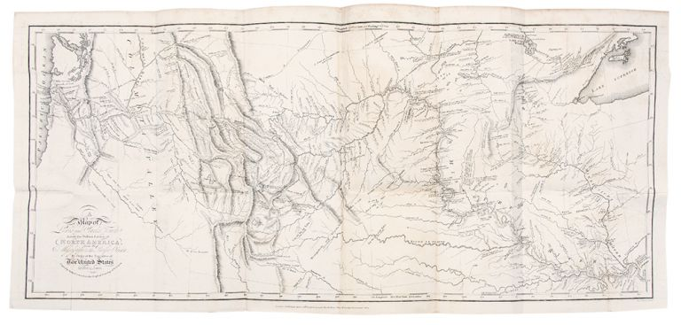 Travels to the Source of the Missouri River and across the American Continent to the Pacific Ocean. Performed by order of the government of the United States, in the years 1804, 1805, and 1806. By Captains Lewis and Clarke. Published from the Official Report. Meriwether LEWIS, William CLARK.