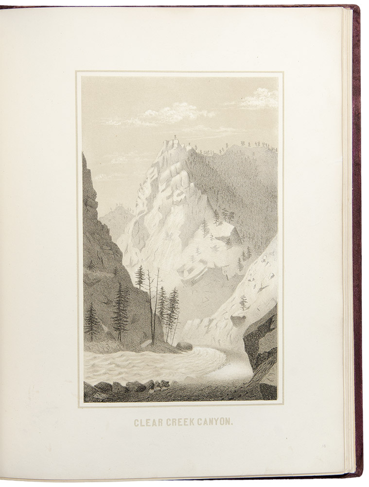 Gems of Rocky Mountain Scenery, Containing Views Along and Near the Union Pacific Railroad. Alfred Edward MATHEWS.