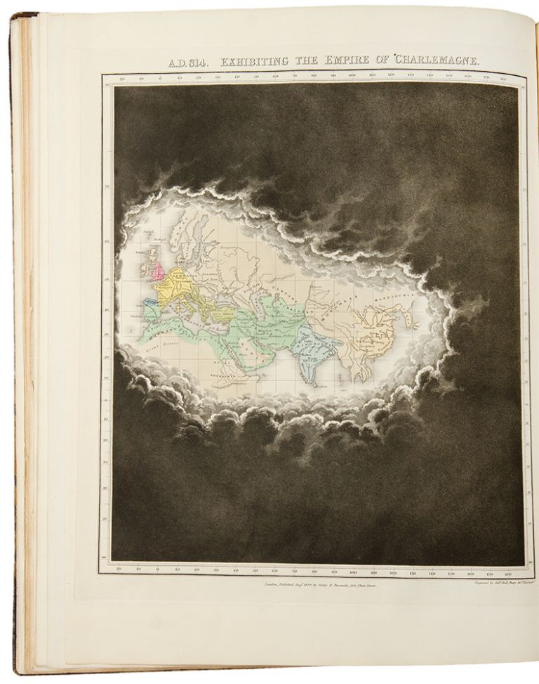 An Historical Atlas; in a Series of Maps of the World as known at different periods; constructed upon an uniform scale and colored according to the political changes of the period. Edward QUIN.