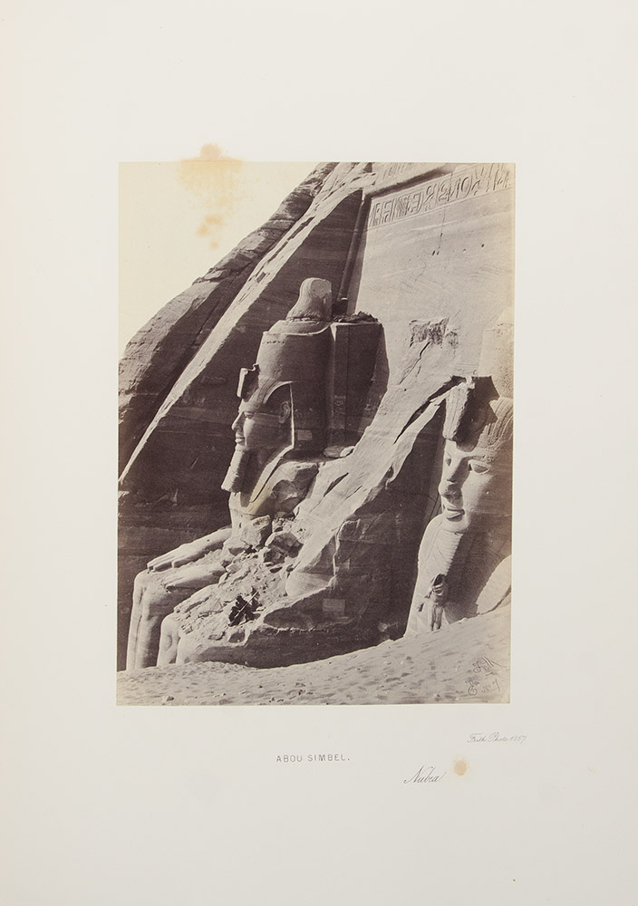 Egypt and Palestine Photographed and Described. Francis FRITH.