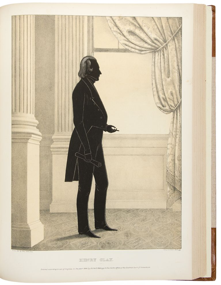 Portrait Gallery of Distinguished American Citizens, with biographical sketches. William Henry BROWN.