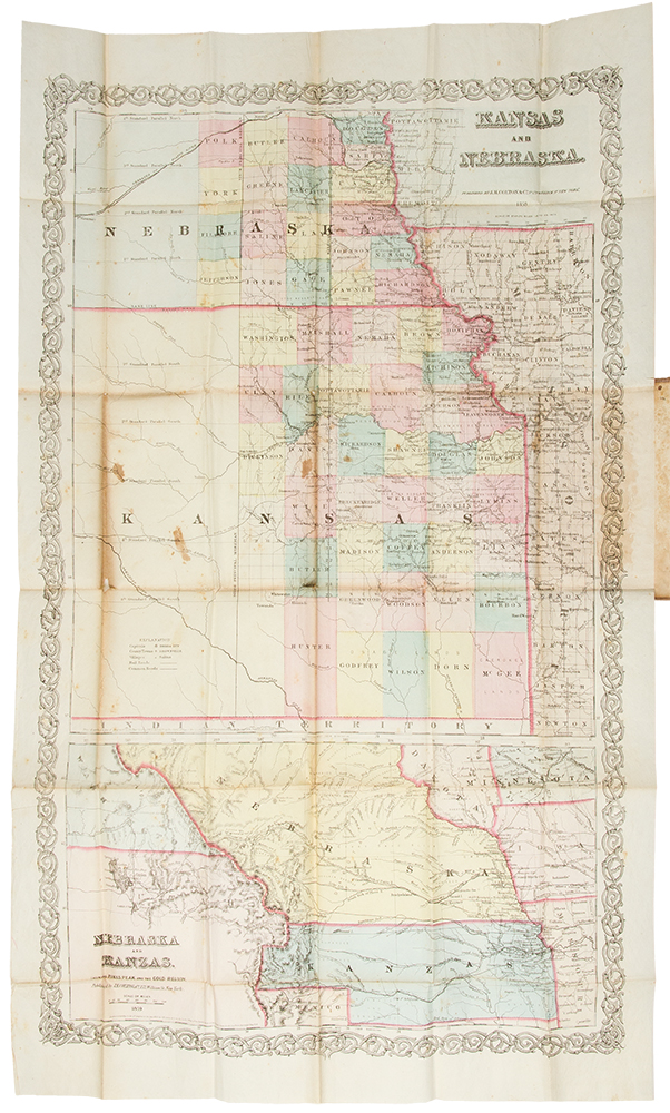 Hand-Book to Kansas Territory and the Rocky Mountain Gold Region; Accompanied by Reliable Maps and a Preliminary Treatise on the Pre-Emption Laws of the United States. James REDPATH, Richard J. HINTON.
