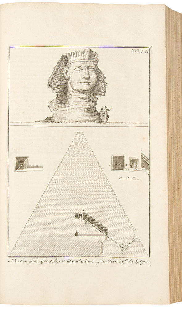 A Description of the East, and Some other Countries ... Observations on Egypt; [Vol. II, part 1: Observations on Palæstine or the Holy Land, Syria, Mesopotamia, Cyprus, and Candia; Vol. II, part 2: Observations on the Islands of the Archipelago, Asia Minor, Thrace, Greece, and some other parts of Europe]. Richard POCOCKE.