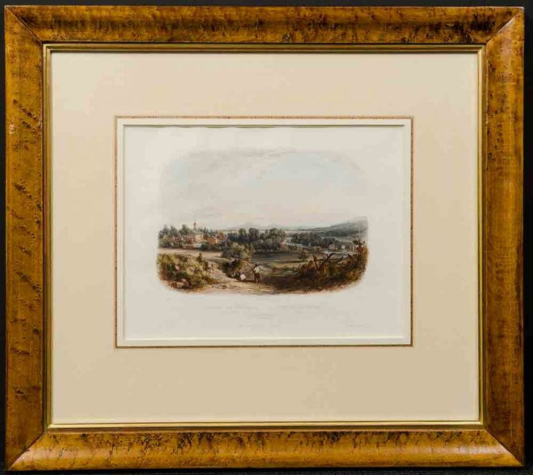 View of Bethlehem (Pennsylvania). Karl BODMER.