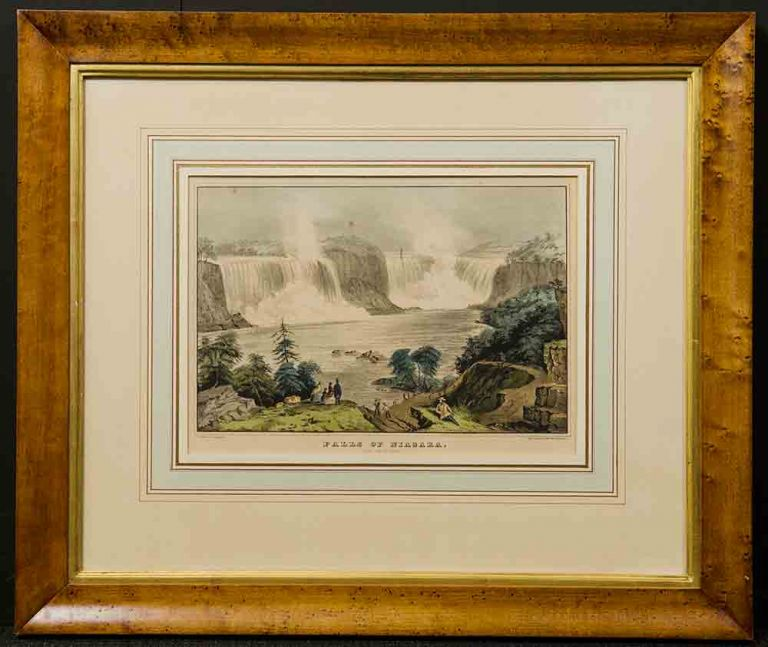 Falls of Niagara. From Clifton House. NATHANIEL CURRIER.