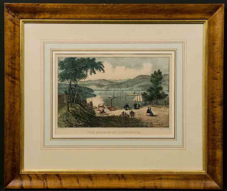 The Hudson at Peekskill. CURRIER, IVES, pub.