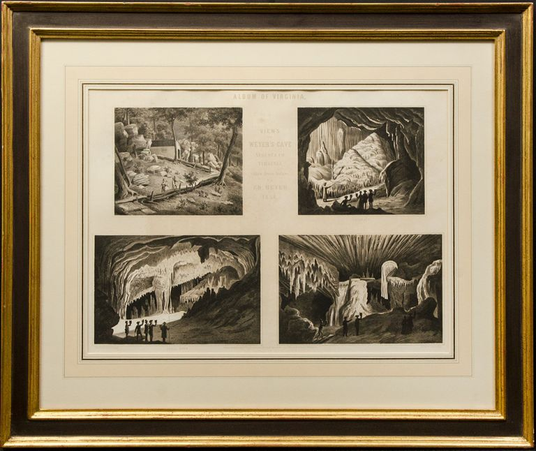 View's of Weyer's Cave. Edward BEYER.