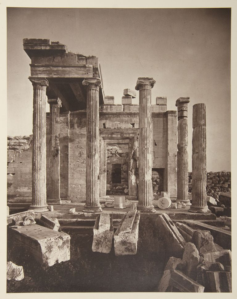The Acropolis of Athens, Illustrated Picturesquely and Architecturally in Photography. William J. STILLMAN.