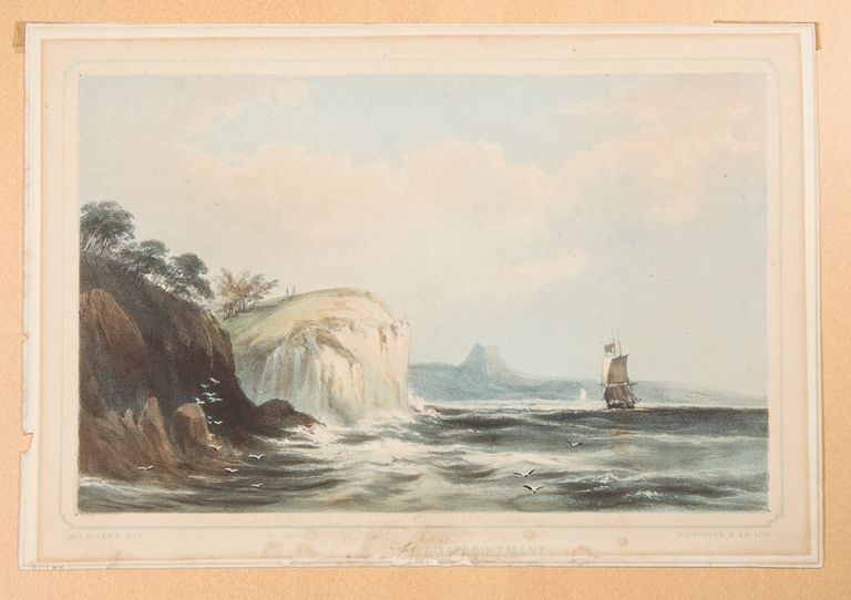Cape Disappointment [at the Mouth of the Columbia River]. After Sir Henry James WARRE.