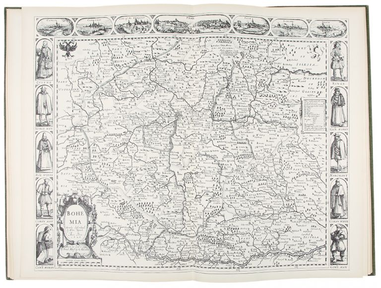 John Speed. A Prospect of the Most Famous Parts of the World. London 1627. publisher THEATRUM ORBIS TERRARUM.