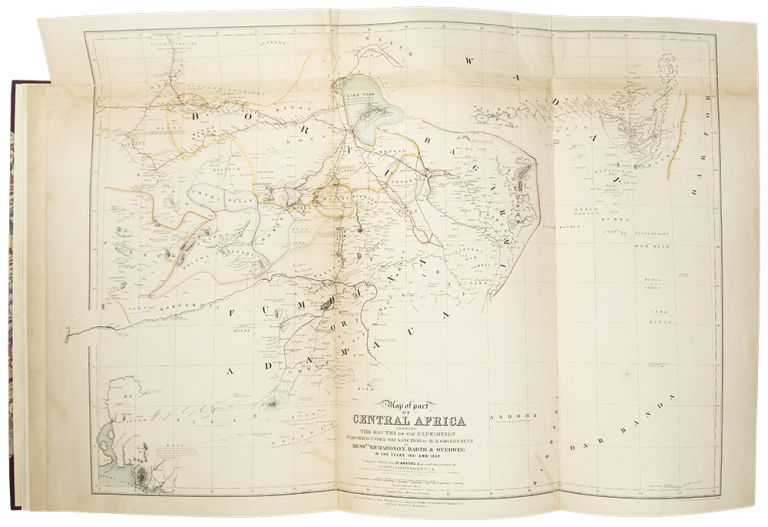 By Authority of Her Majesty's Foreign Office. An Account of the Progress of the Expedition to Central Africa, performed by order of Her Majesty's Office, under Messrs. Richardson, Barth, Overweg & Vogel, In the years 1850, 1851, 1852 and 1853. Augustus PETERMANN.