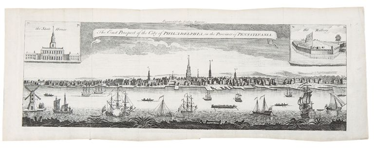The East Prospect of the City of Philadelphia, in the Province of Pennsylvania. George HEAP, after, Nicholas SCULL.