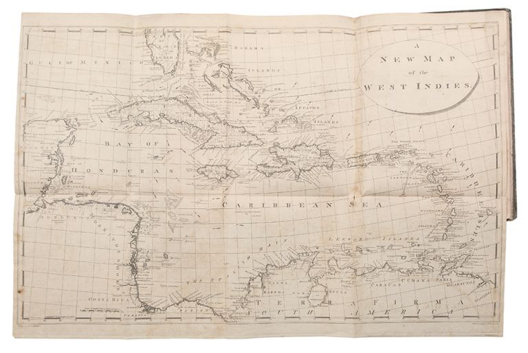 A New Atlas of the British West Indies, with a Whole Sheet General Map of the West India Islands, and a Whole Sheet Map of the Island of Hispaniola, or St. Domingo. Engraved to accompany the Philadelphia edition of Edwards's History of the West Indies. Bryan EDWARDS.