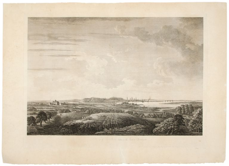 A View of Boston, Taken on the Road to Dorchester. J. F. W. DES BARRES, after William PIERIE.