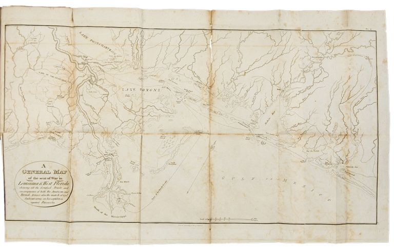 Historical Memoir of the War in West Florida and Louisiana in 1814-15 ... [With:] Atlas to the Historical Memoir of the War in West Florida and Louisiana. Arsene Lacarriere LATOUR.