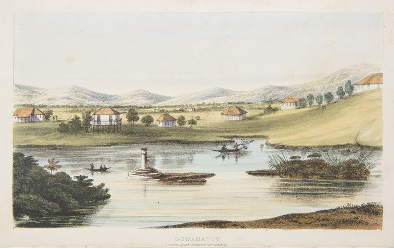 A Sketch of Assam with some Account of the Hill Tribes. John BUTLER.