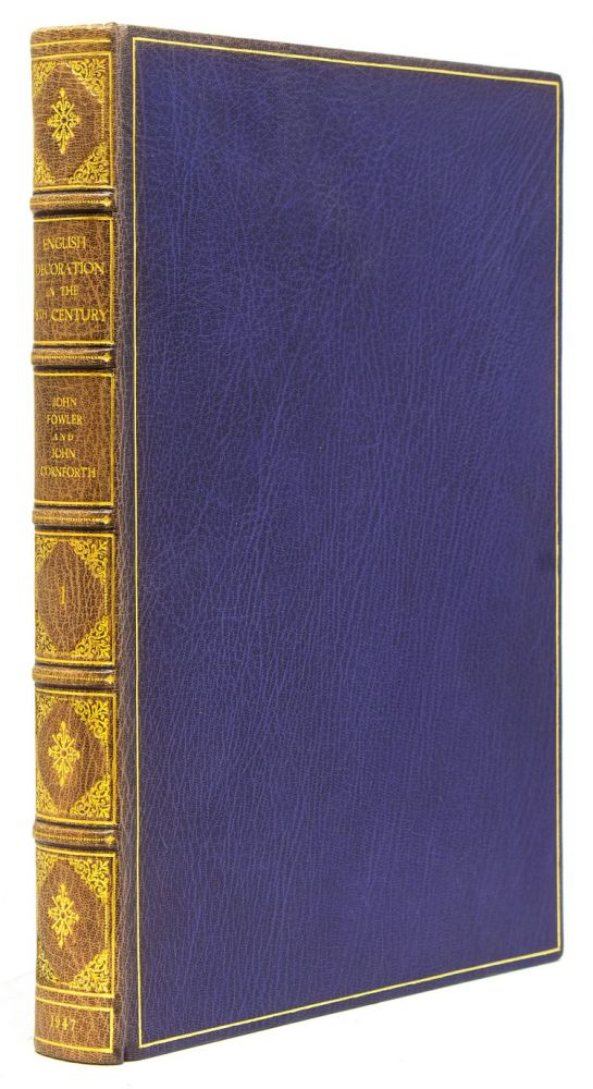 Collection of 26 Volumes on Decorative arts including: Les Maitres Ebenistes français au XVIIIe siècle; Three Centuries of Furniture in Color by H.D. Molesworth And John Kenworthy-Browne; English Decoration in the XVIII Century; French Cabinetmakers in the Eighteenth Century; etc. Library of DECORATIVE ARTS - Charles EDISON.