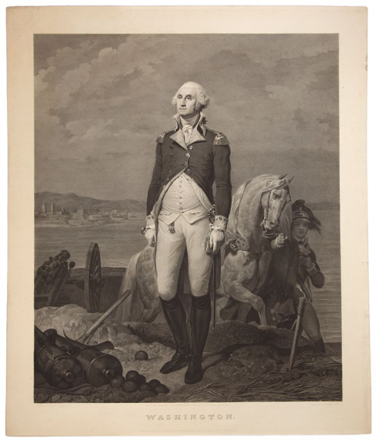 Washington. Jean Nicolas LAUGIER, after Leon COGNIET.