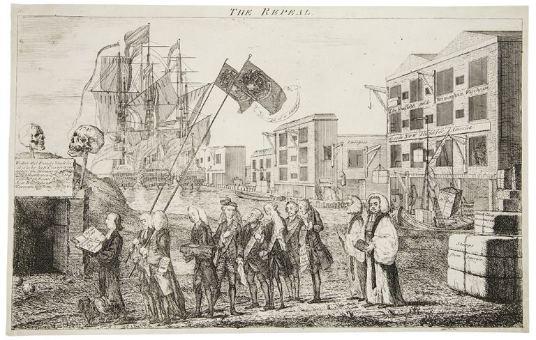 The Repeal. Benjamin AMERICAN REVOLUTION - WILSON.