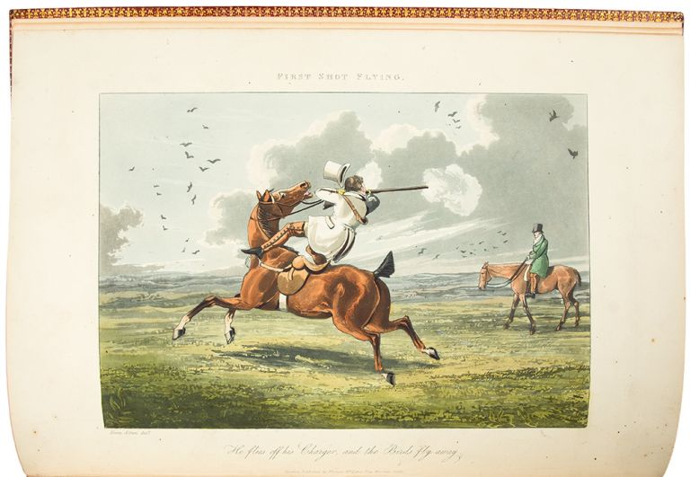 A Cockney's Shooting Season in Suffolk ... Containing the remarkable adventures that actually occurred to a young Cit on a Visit to His Friends in that County. Henry ALKEN.