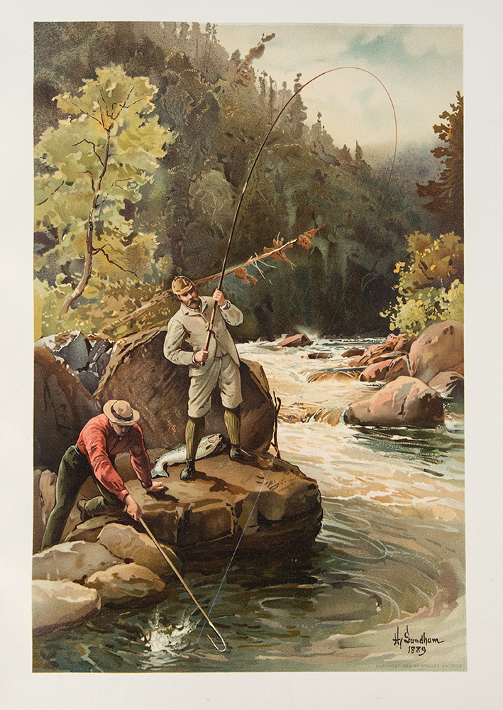 Sport or Fishing and Shooting. Frederic REMINGTON, A. B. FROST, - A. C. GOULD, illustrators.