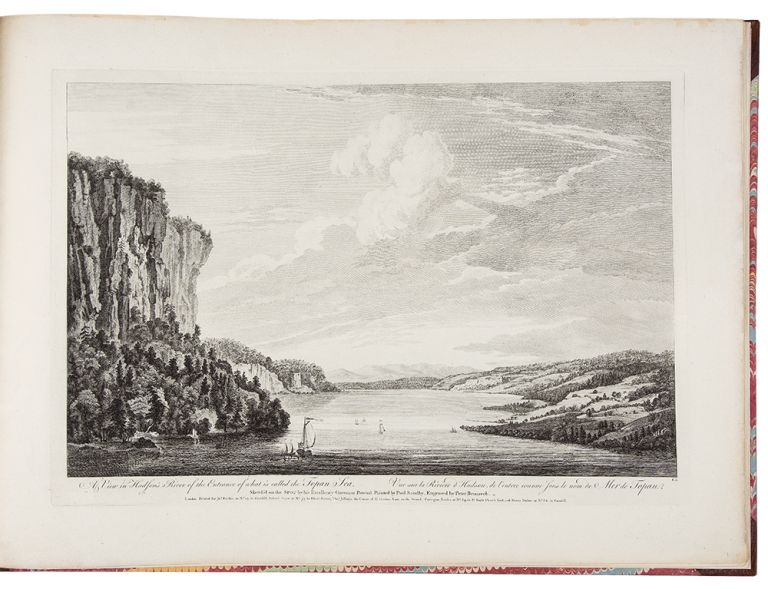 [Six Remarkable Views in the Provinces of New York, New Jersey and Pennsylvania: Engraved after the Paintings made by Mr. Paul Sandby, from the Drawings taken on the spot by his Excellency Governor Pownall]. SCENOGRAPHIA AMERICANA - Thomas POWNALL, after, Paul SANDBY.