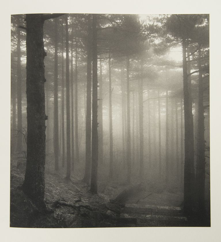 Huangshan. Poems from the T'ang Dynasty. Michael KENNA, photographer, b. 1953.