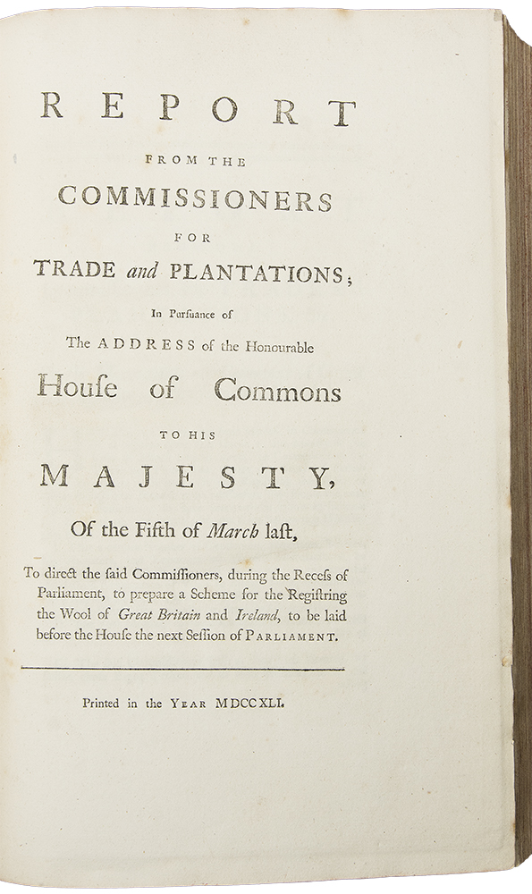 [Six works bound in one, mostly concerning the English colonies in America]. ENGLISH COLONIES IN AMERICA.