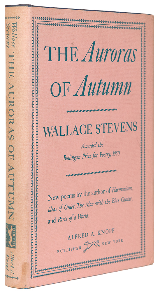 The Auroras of Autumn. Wallace STEVENS.