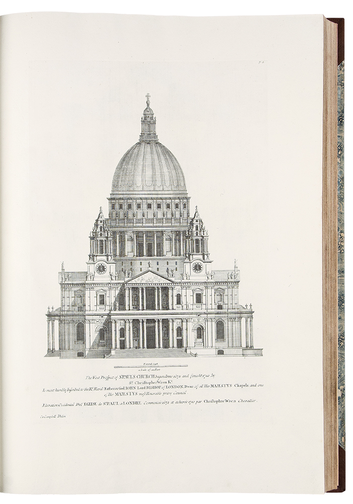 Vitruvius Britannicus, or The British Architect. Containing the plans, elevations and sections of the regular buildings, both publick and private, in Great Britain. Colen CAMPBELL.