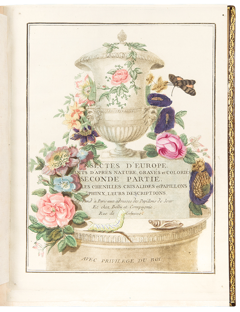 Papillons d'Europe, Peints d'apres Nature. Jacques Louis ENGRAMELLE.