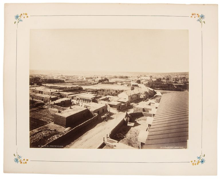 Santa Fe, From the College. William Henry JACKSON.