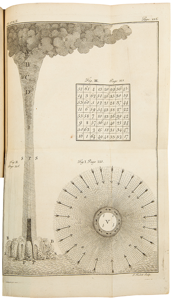 Experiments and Observations on Electricity, Made at Philadelphia in America...to which are added, Letters and Papers on Philosophical Subjects. The Whole Corrected, Methodized, Improved, and now first collected into one volume, and illustrated with copper plates. Benjamin FRANKLIN.