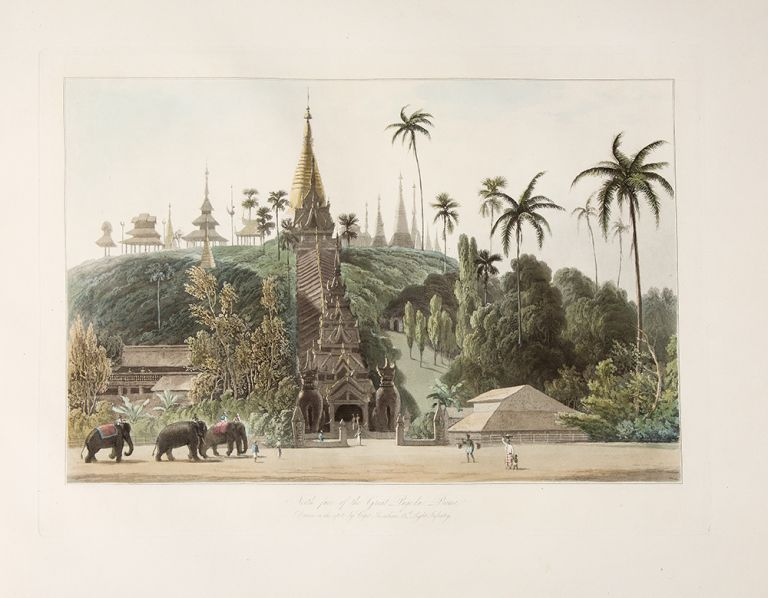Views in the Burman Empire. Drawn on the Spot [wrapper title]. Captain James KERSHAW, after, engraver, William DANIELL.