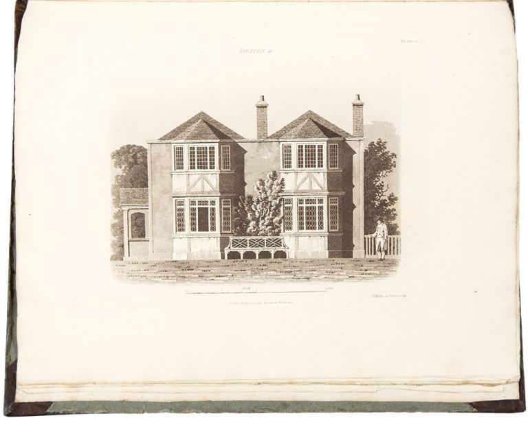 An Essay on British Cottage Architecture. Being an Attempt to perpetuate on Principal that Peculiar Mode of Building which was originally the Effect of Chance. James MALTON.