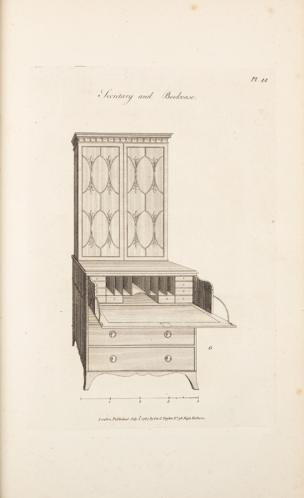 The Cabinet-Maker and Upholsterer's Guide; or, Repository of Designs for Every Article of Household Furniture, in the newest and most approved taste ... The Third Edition, Improved. George HEPPLEWHITE, Alice HEPPLEWHITE.